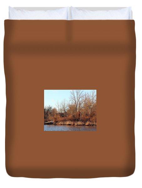 Northeast River Banks Duvet Cover