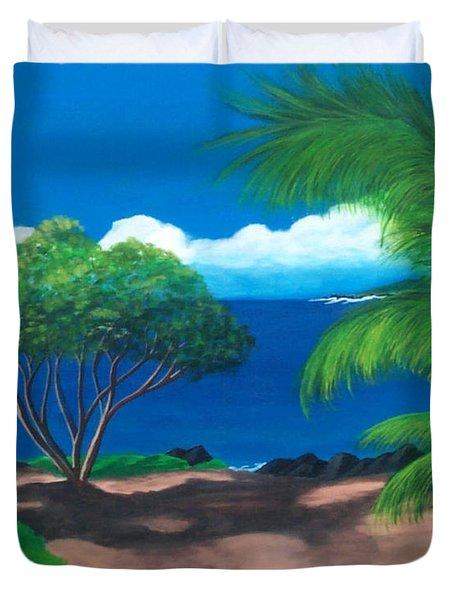 Water's Edge Duvet Cover by Nancy Nuce