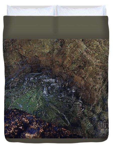 Water's Flow Duvet Cover
