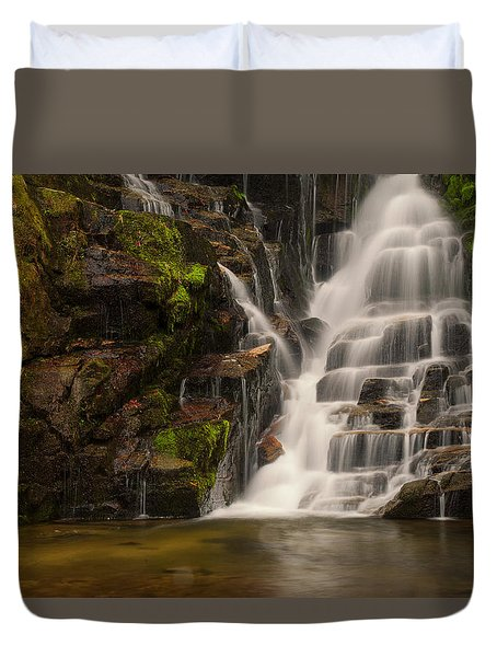 Water's Staircase Duvet Cover