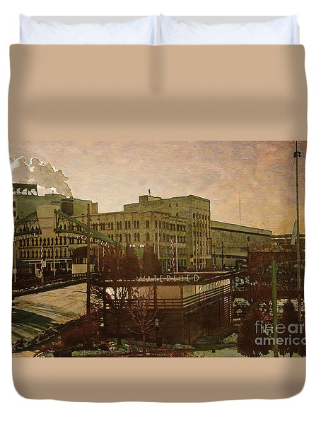 Watershed Duvet Cover by David Blank