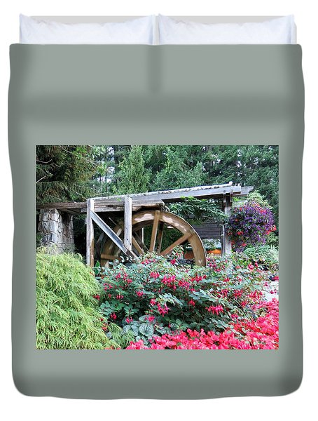 Waterwheel Duvet Cover