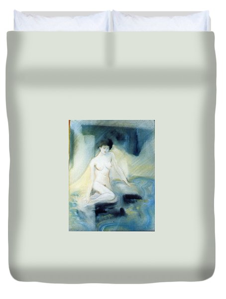 Watery Nymph Duvet Cover