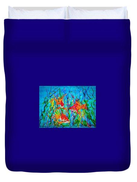 Watery Wonderland Duvet Cover