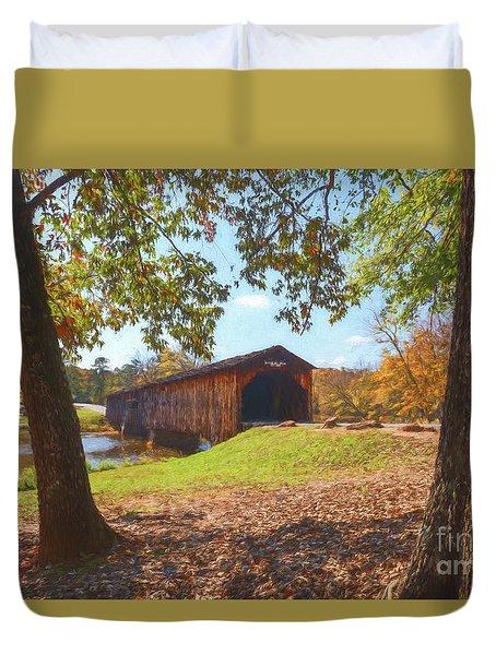 Watson Mill Bridge II Duvet Cover