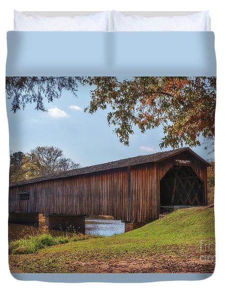 Watson Mill Bridge Duvet Cover
