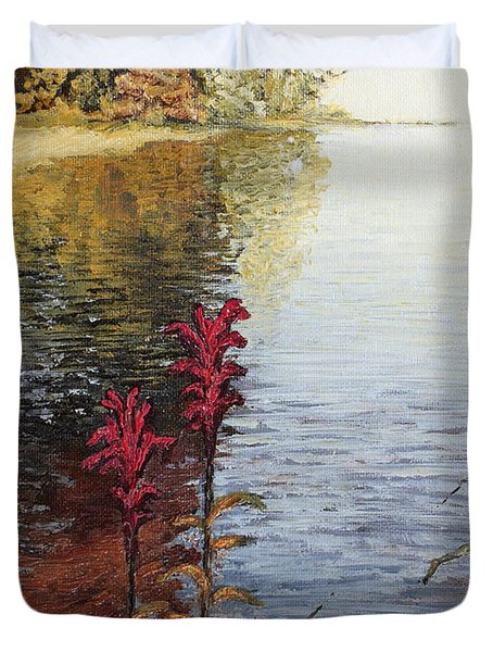 Watts Bar Lake Rockwood Tn Duvet Cover