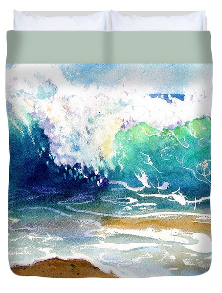 Wave Color Duvet Cover