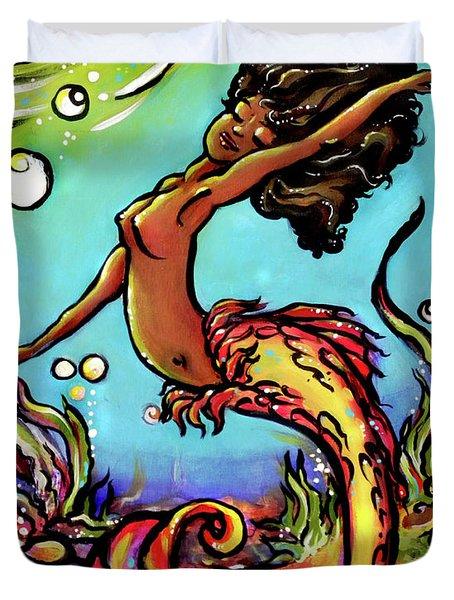 Wave Dancer  Duvet Cover