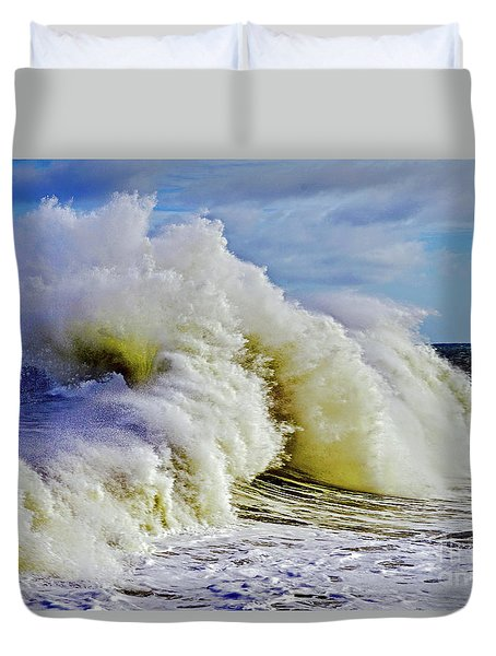 Moody Surf Duvet Cover