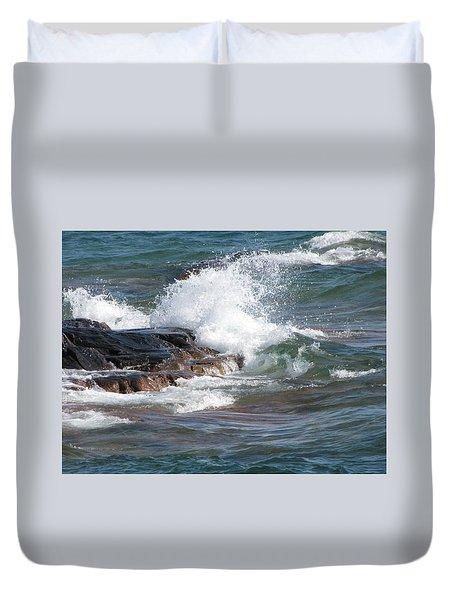 Wave Length Duvet Cover