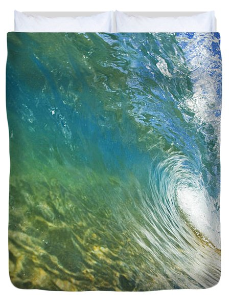 Wave - Makena Duvet Cover