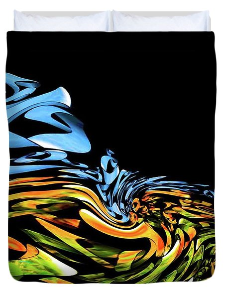 Wave Of Colors Duvet Cover
