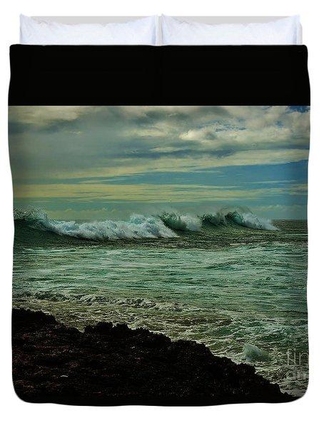 Wave Surge Duvet Cover