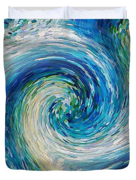 Wave To Van Gogh II Duvet Cover