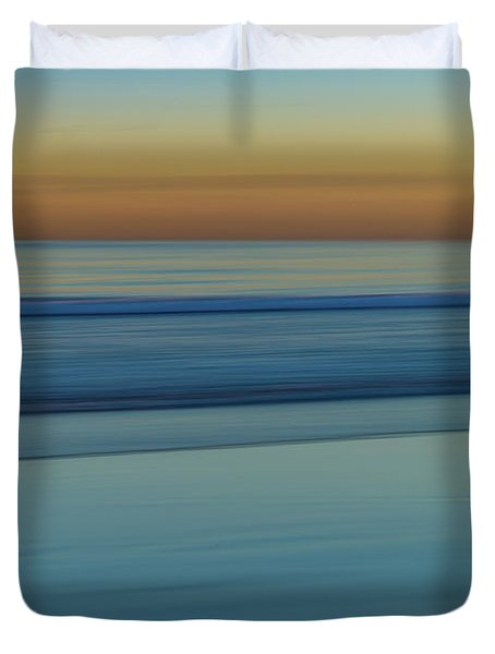Wave Tracks 3 Duvet Cover