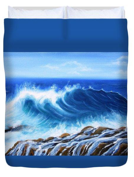 Wave Duvet Cover by Vesna Martinjak