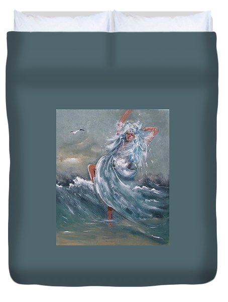 Wave Within Duvet Cover