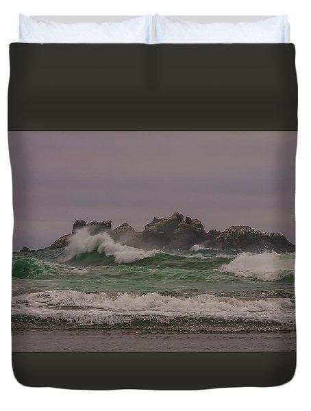Waves 1 Duvet Cover