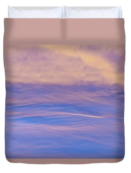 Waves Of Color Duvet Cover