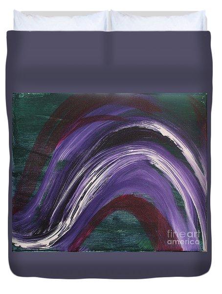 Waves Of Grace Duvet Cover