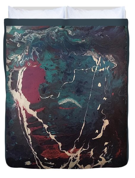 Life's Waves Duvet Cover