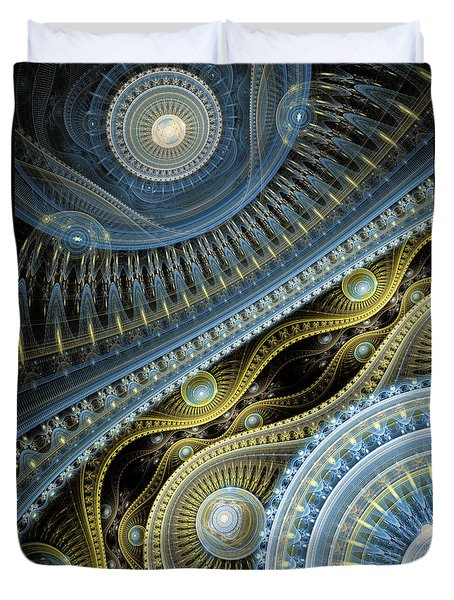 Waves Of Time 2 Duvet Cover