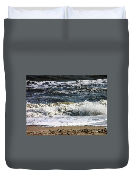 Waves, Waves, Waves Duvet Cover