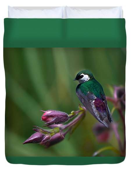 Wavey Perch Duvet Cover by Adria Trail