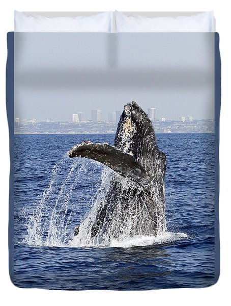 Waving  Duvet Cover by Shoal Hollingsworth