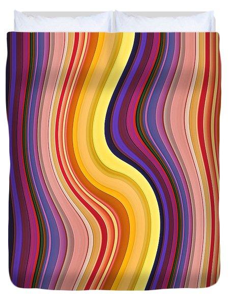 Wavy Stripes 1 Duvet Cover