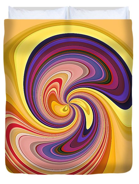 Wavy Stripes Figure 1 Duvet Cover