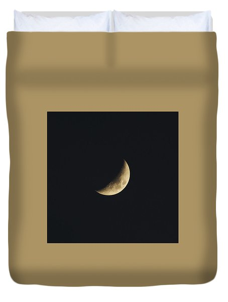 Waxing Crescent Spring 2017 Duvet Cover