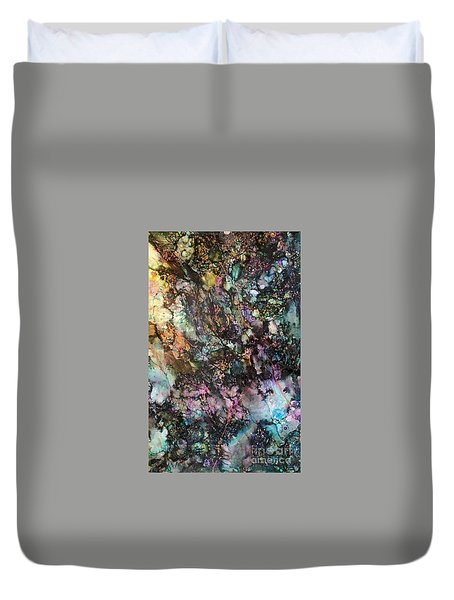 Way Down She Goes Duvet Cover