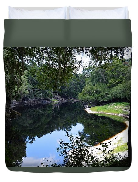 Way Down Upon The Suwannee River Duvet Cover