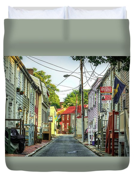 Way Downtown Duvet Cover