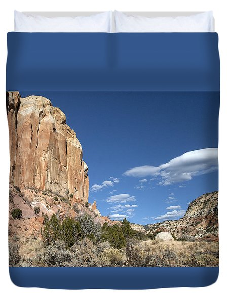 Way In The Distance Duvet Cover