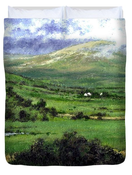 Way To Ardara Ireland Duvet Cover