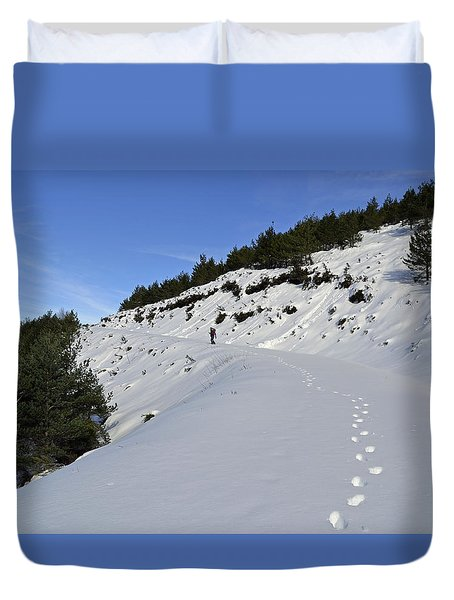 Way To Heaven Duvet Cover