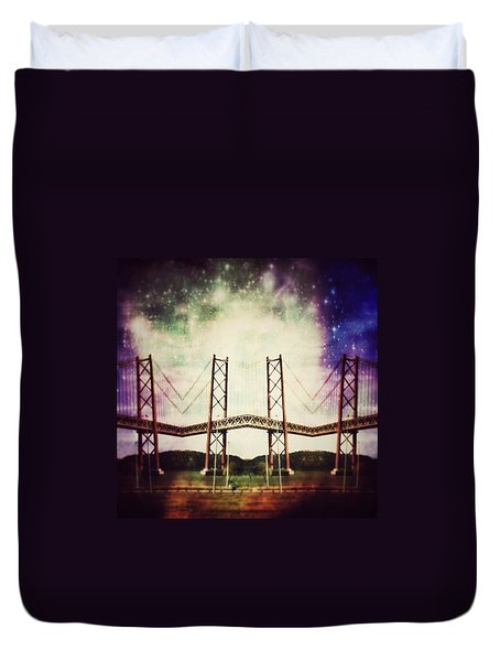 Way To The Stars Duvet Cover by Jorge Ferreira