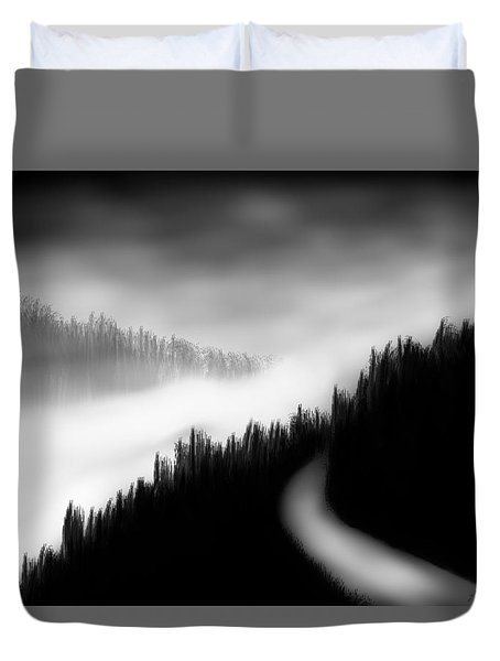 Way To The Unknown Duvet Cover