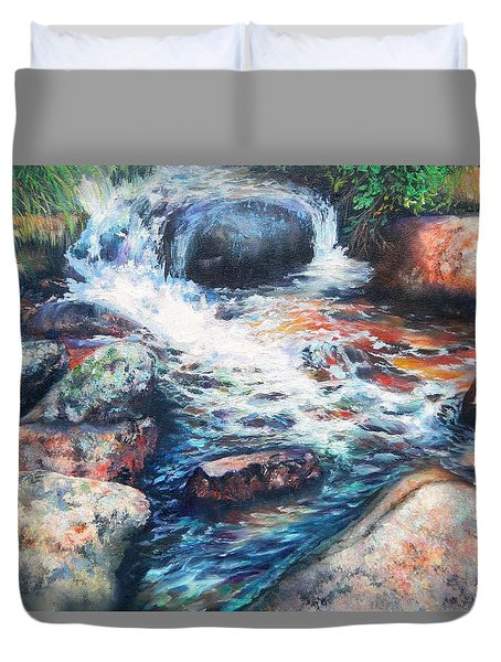 Wayside Brook Duvet Cover