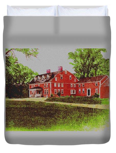 Wayside Inn 1875 Duvet Cover