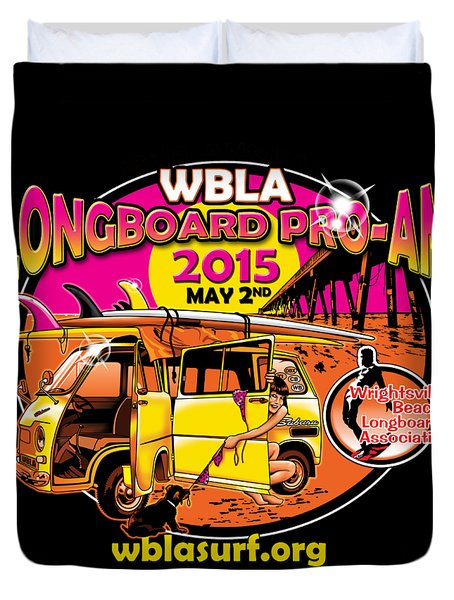 Wbla 2015 For Promo Items Duvet Cover