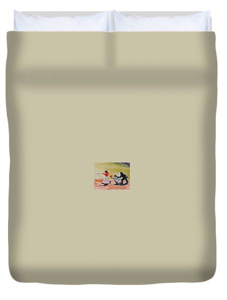Wcu At The Plate Duvet Cover