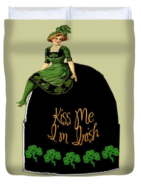 We All Irish This Beautiful Day Duvet Cover by Asok Mukhopadhyay