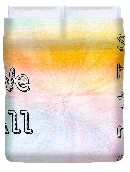 We All Shine Duvet Cover