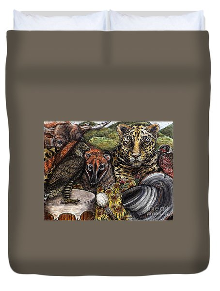 We Are All Endangered Duvet Cover