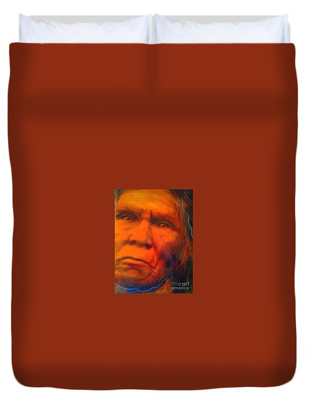 We Are First Nation Duvet Cover