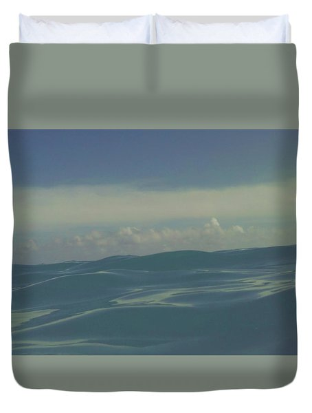 Duvet Cover featuring the photograph We Are One by Laurie Search